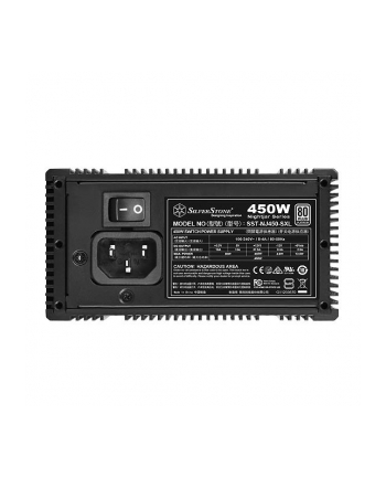 Silverstone SFX PSU SST-NJ450-SXL, 450W 80 Plus Platinum, fanless, Modular