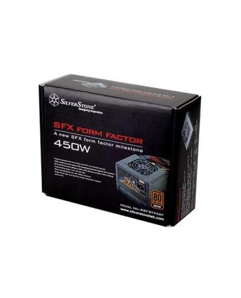 Silverstone SFX PSU SST-ST45SF v 2.0, 450W 80 Plus Bronze, Low Noise 80mm