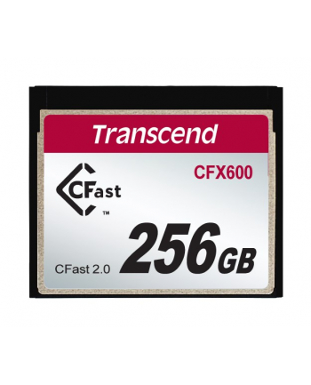 Transcend CompactFlash Card CFast 256 GB