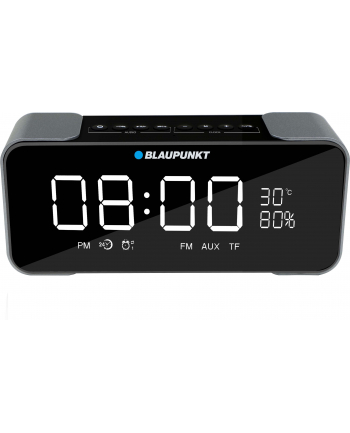 Blaupunkt Przenośny Głośnik Bluetooth BT16CLOCK, FM PLL SD|AUX|2x5W|ALARM|TEMP