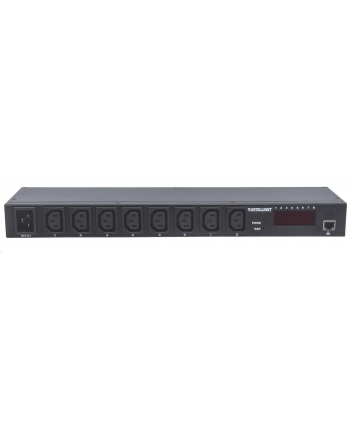 intellinet network solutions Intellinet Listwa zasilająca 19'' 1U 110V - 240V/16A 8 gniazd C13 zarządzalna IP
