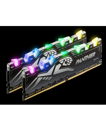 Apacer DDR4 16 GB 3200-CL16 - Dual-Kit - Panther Rage RGB