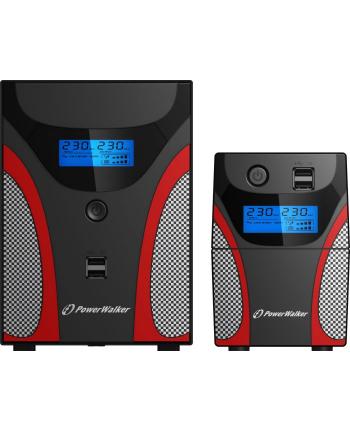 BlueWalker PowerWalker VI 1200 SHL IEC - UPS - black