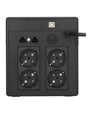 BlueWalker PowerWalker VI 750 PSW - UPS - black