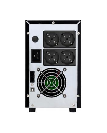 BlueWalker PowerWalker VI 3000 LCD Protective Contact - UPS - black
