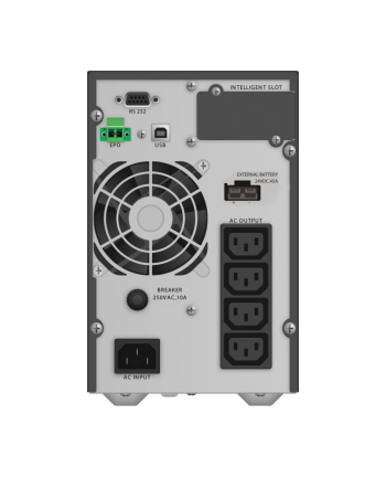 BlueWalker PowerWalker VFI 1000 TGB - UPS - black