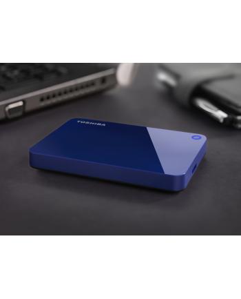 ToshibaCanvio Advance 1 TB - USB 3.0 - blue