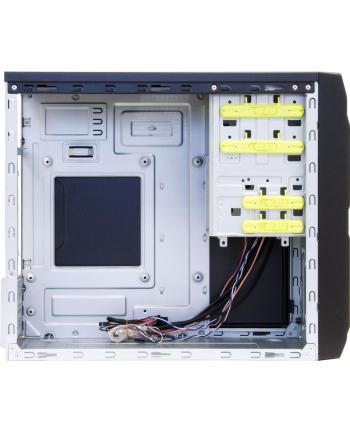 Chieftec LT-01B-350GPB - tower case - black - incl. 350 watt power supply