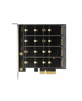 DeLOCK PCIe > 4x internal M.2 B - RAID