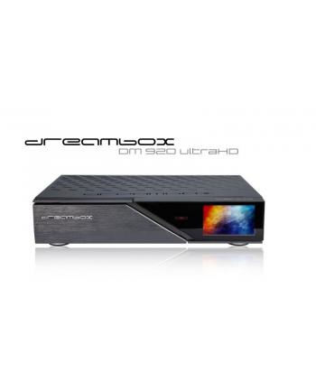 dream multimedia Dreambox DM920 UHD 4K - black - 2 x DVB-S2X FBC Dual Tuner - PVR - UHD