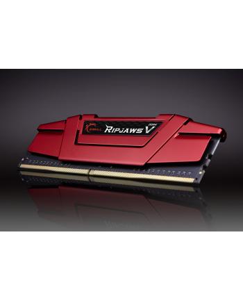 G.Skill DDR4 32 GB 2666-CL19 - Quad-Kit - Ripjaws V Red