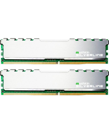Mushkin DDR4 32 GB 2666-CL19 - Dual-Kit - Silverline