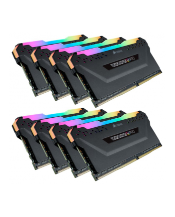 Corsair DDR4 64 GB 3200-CL16 - Octo-Kit - Vengeance RGB PRO Black