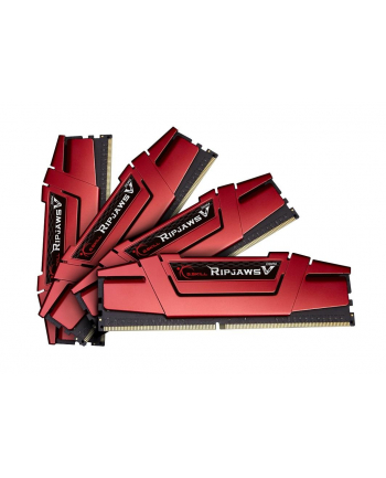 G.Skill DDR4 64 GB 3000-CL16 - Quad-Kit - Ripjaws V Red