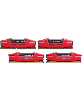 G.Skill DDR4 64 GB 3000-CL16 - Quad-Kit - Ripjaws V Red