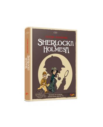 foksal Książ. Komiksy paragrafowe. Cztery śledztwa Sherlocka Holmesa