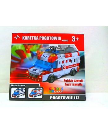 toysgroup Klocki karetka j.polski św/dźw TG404593