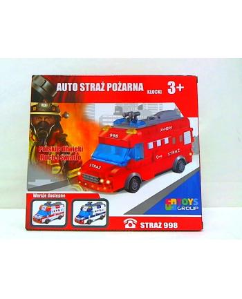 toysgroup Klocki auto straż j.polski na baterie TG408193