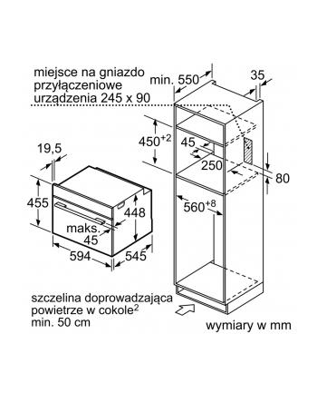 siemens Kuchenka mikrofalowa CF634AGS1
