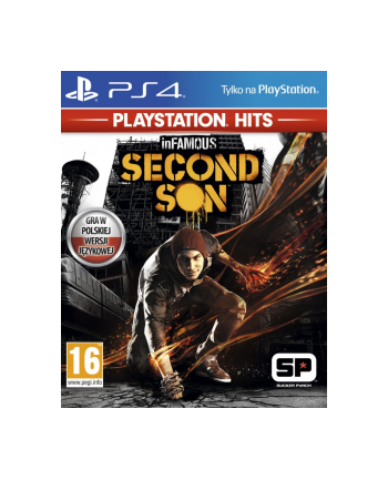 sony Gra PS4 InFamous Second Son