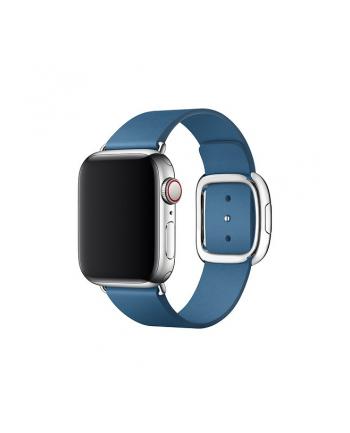 apple Pasek w kolorze szarego błękitu z klamrą nowoczesną do koperty 40 mm - rozmiar S