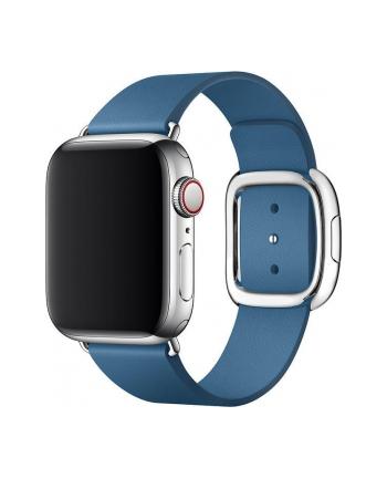 apple Pasek w kolorze szarego błękitu z klamrą nowoczesną do koperty 40 mm - rozmiar L