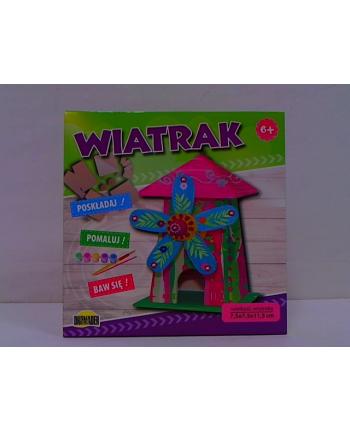 dromader Zestaw poskładaj pomaluj - Wiatrak 02511