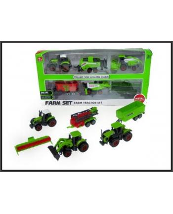 Zestaw pojazdów rolniczych 6szt. 2rodz. SQ82006-1 HIPO