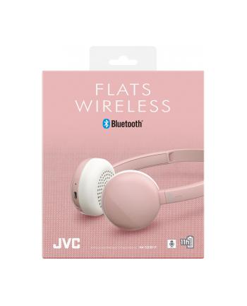 jvc Słuchawki bezprzewodowe HA-S20BT różowe