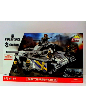 COBI SMALL ARMY czołg Sabaton Primo Victoria 3034