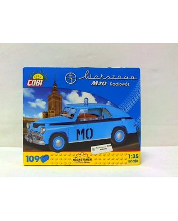 COBI CARS auto Warszawa M20 radiowóz 109kl 24551