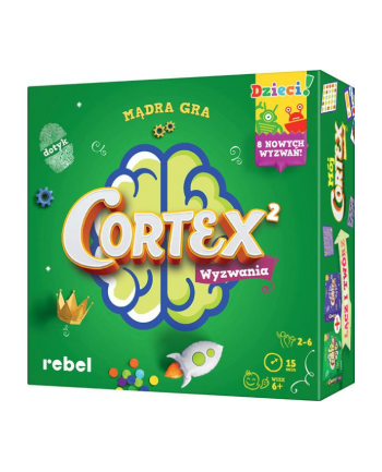 Gra Cortex dla dzieci 2 REBEL