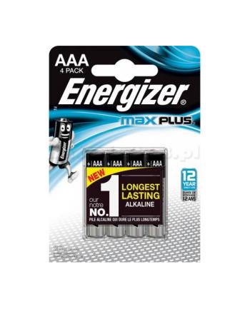 energizer Bateria Max Plus AAA LR03 4 szt. Blister