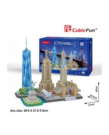 dante Puzle 3D City Line New York City