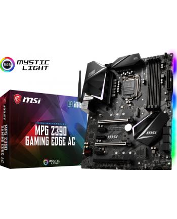 msi Płyta główna MPG Z390 GAMING EDGE AC s1151 4DDR4 HDMI/DP ATX