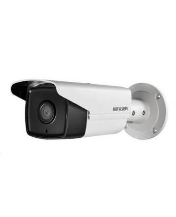 Hikvision kamera DS-2CD2T23G0-I5(4mm) w obudowie tulejowej. Rozdzielczość 2MP, przetwornik: 1/2.8?, zasięg IR EXIR do 50m, obiektyw: 4mm/F2.0, kąt poziomy: 86°, wbudowany sklot na kartę microSD do 128GB, zasilanie 12VDC/PoE