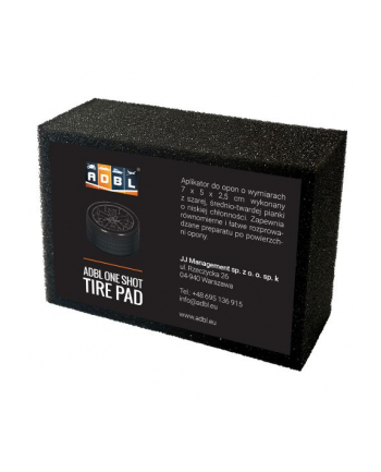 ADBL ONE SHOT TIRE PAD