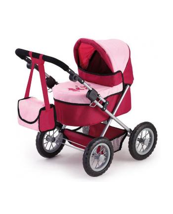 brimarex Wózek Trendy różowo-czerwony w pud.