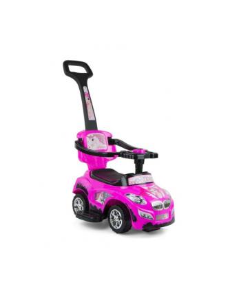 milly mally Pojazd dla dzieci Happy Pink