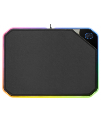 cooler master Podkładka pod mysz MasterAccesory MP860 podświetlana czarna 360x260mm