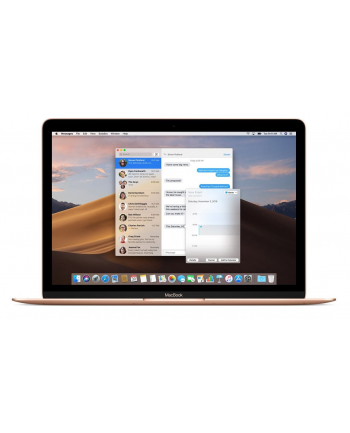 apple Laptop 12 MacBook: 1.3GHz dual-core Intel Core i5, 512GB - Gold