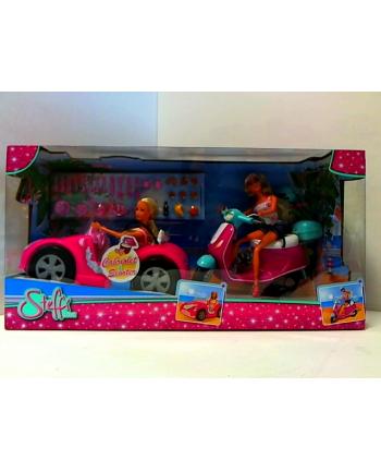 Steffi x2 w kabriolecie i na skuterze Simba