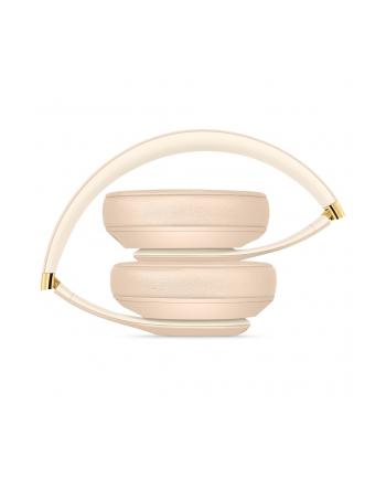 apple Słuchawki bezprzewodowe Beats Studio3 Wireless - The Beats Skyline Collection - piasek pustyni