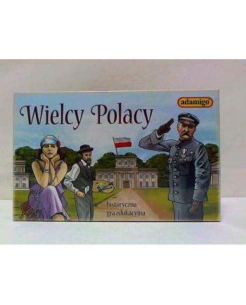 adamigo Wielcy Polacy - gra edukacyjna 07325