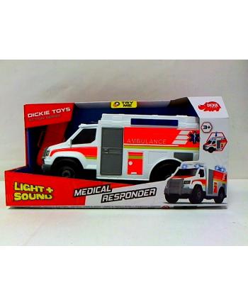 simba Dickie ambulans biały 30cm św/dźw 330-6002