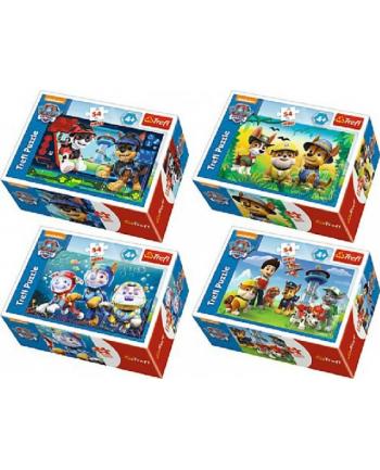 trefl Puzzle 54 MINI PSIA MISJA PAW PATROL 54163