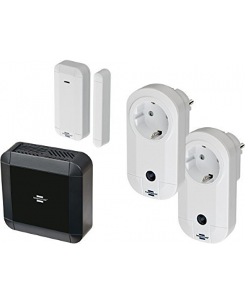 Brennenstuhl BrematicPRO Starter Turn - 1x gateway 1x door / window 2x socket