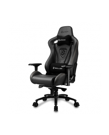 Sharkoon Skiller SGS5 Gaming Seat - real leather - black