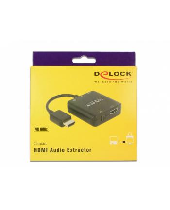 DeLOCK HDMI Audio Extractor 4K 60 Hz kom