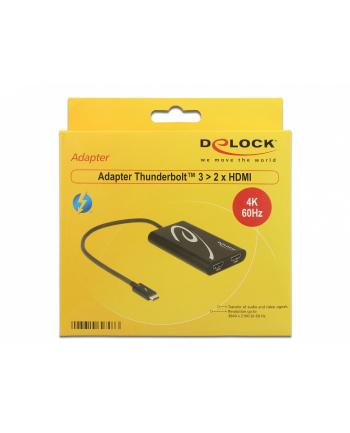 DeLOCK Adapter Thunderbolt 3 HDMI 4K - St-Bu blue 30hz
